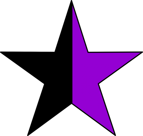 star half color