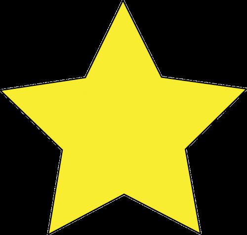 star yellow favorite