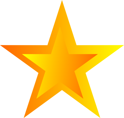 star asterisk five-pointed