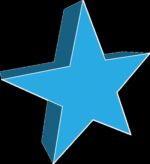 star 3-dimensional 3d