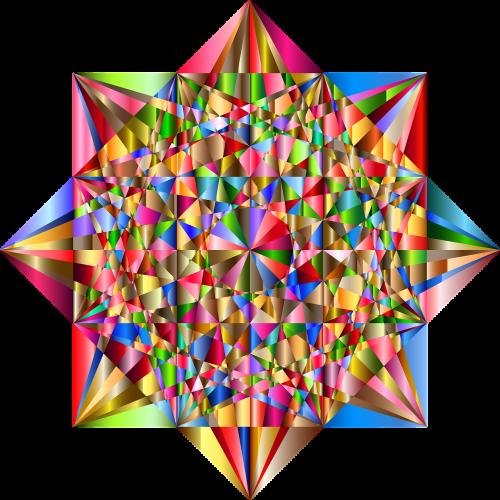 star polygon abstract