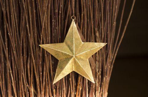 star gold decoration