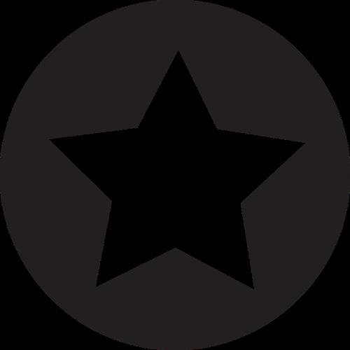 star icon flat