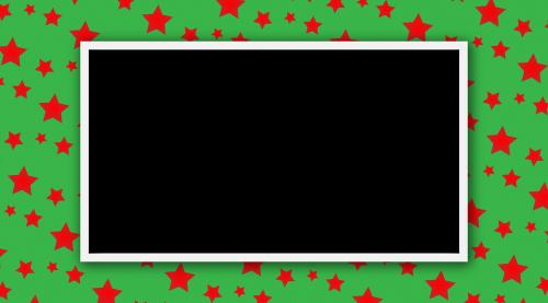 star green photo frame