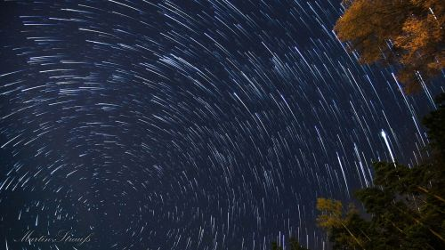 star rotation startrails