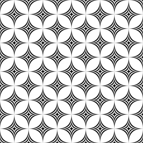 star geometric background