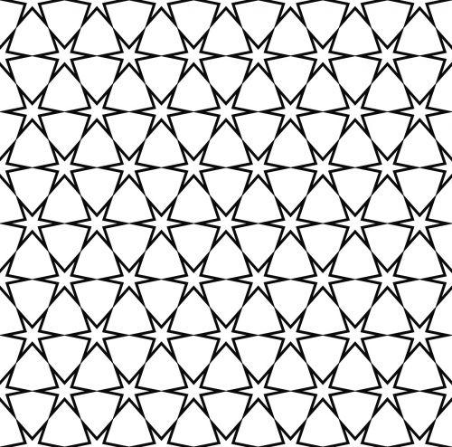 star pattern seamless