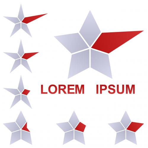 star logo geometric