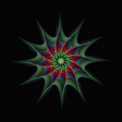 star abstract burst