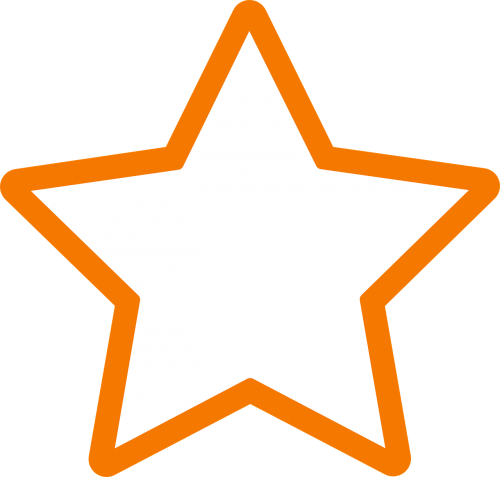star favorite orange