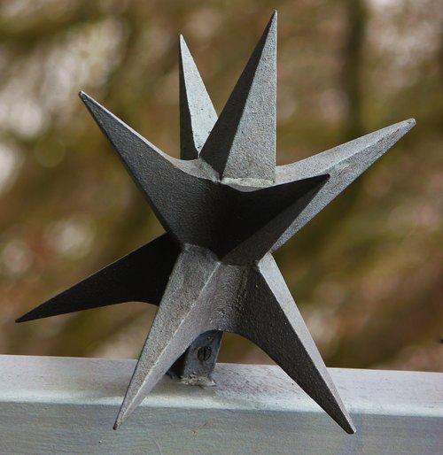 star  metal  wrought iron