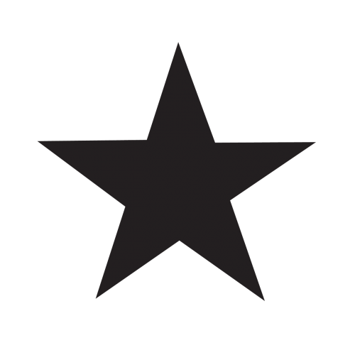 star icon black