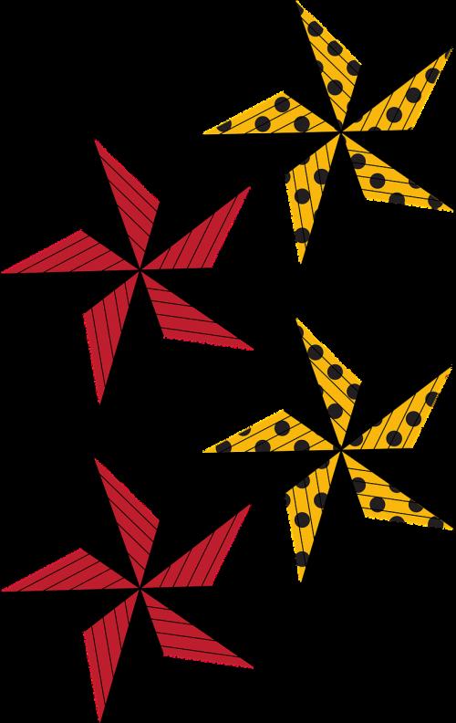 žvaigždė,raghu,taškeliai,nemokama vektorinė grafika