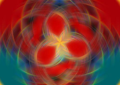star spiral background
