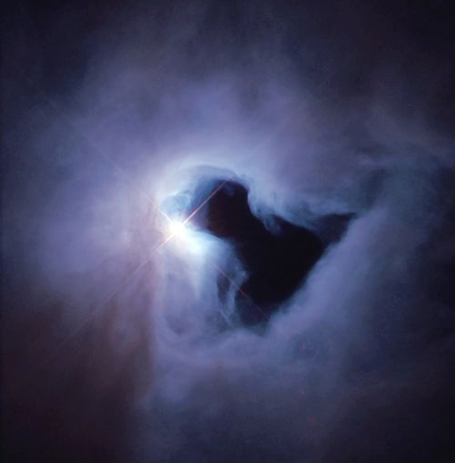 star black hole fog
