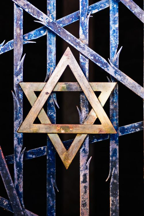 star of david judaism grid