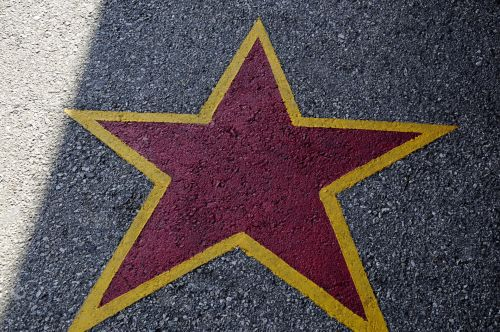 Star On The Pavement
