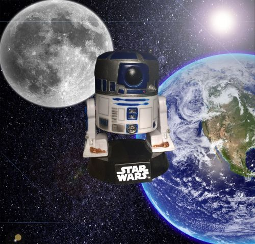 star wars r2d2 space