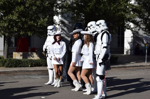 star wars parade cheerleader