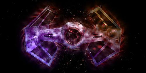 star wars tie fighter spaceship