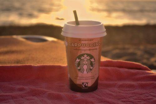 starbucks coffee cappuccino
