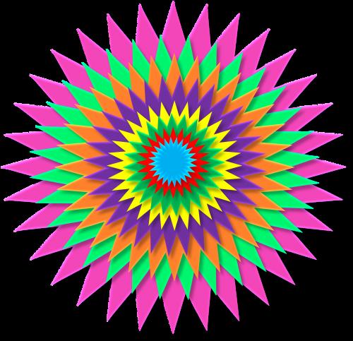 starburst,saulės spindulys,abstraktus,spinduliuoja,vaivorykštė,spalvos,raudona,oranžinė,geltona,žalias,mėlynas,Indigo,violetinė,spinduliai,dizainas,švytėjimas,sprogimas,modelis,piktograma,simbolis,saulės spinduliai,saulės spindulys,spindulys,gyvas,gyvas,grafika