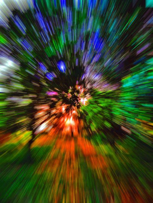 Starburst Nature Scene
