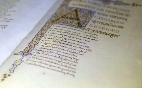 calligraphy starodruk manuscript