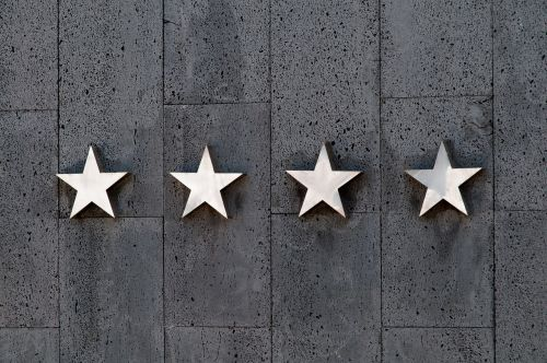 stars rating travel