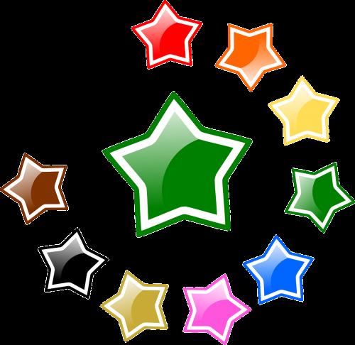 stars glossy favorite