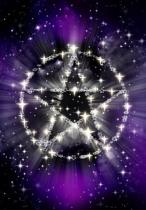 stars pentagram magic