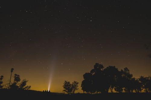 stars sky night