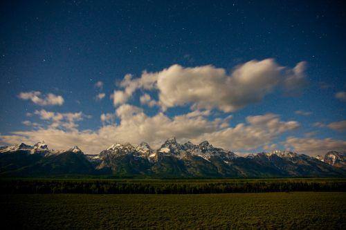 Stars Over Grand Tetons