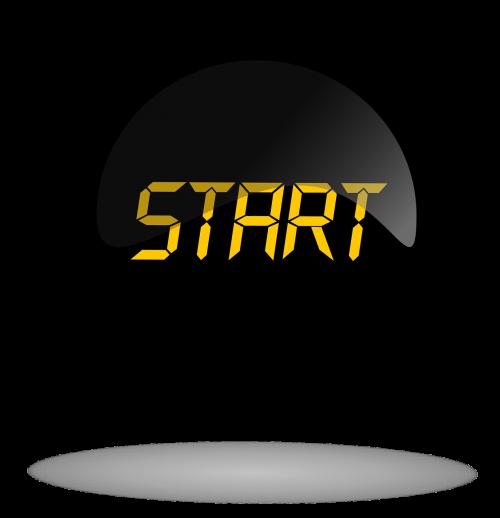 start start black button button