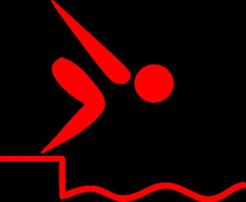 starting block swimming start
