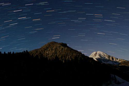 startrails star trail
