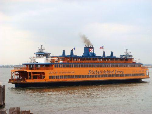 staten island ferry ferryboat new york city