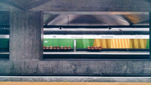 station subway train
