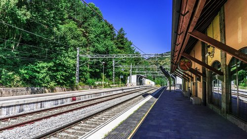 station  railway  architecture