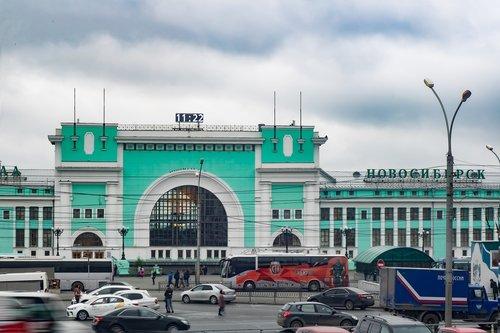 station  novosibirsk  building