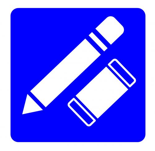 stationary icon pencil
