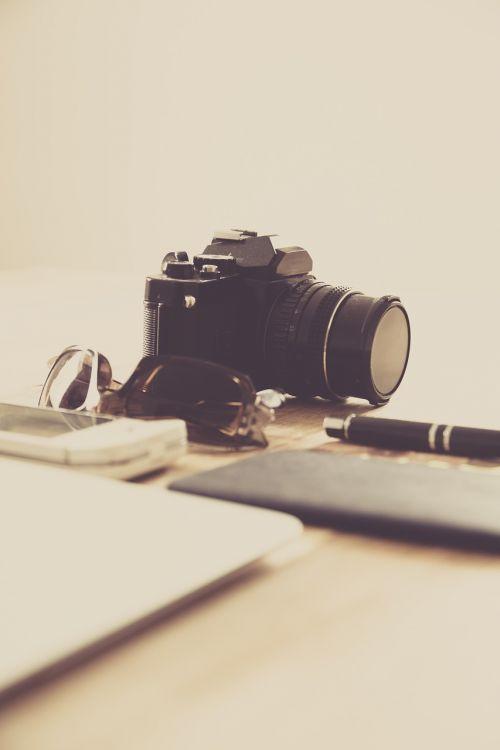stationary table camera