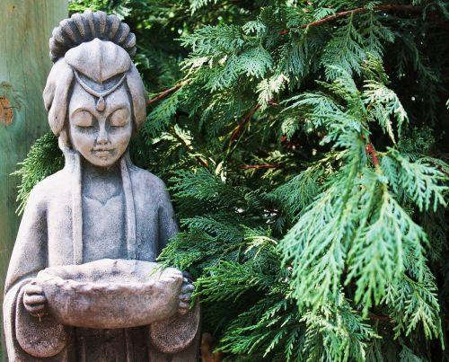 statue yard art outdoor art