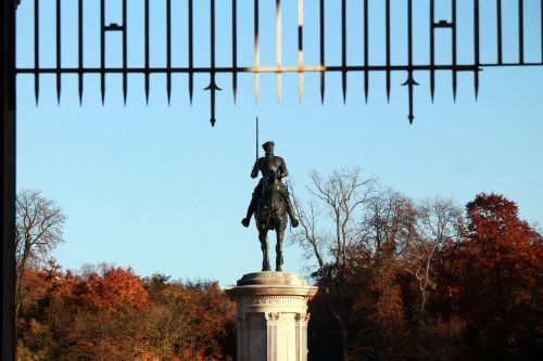 anne of montmorency equestrian monument statue