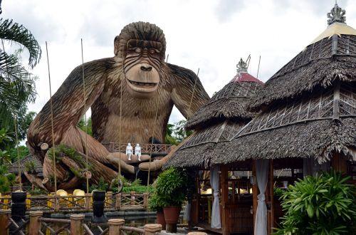 statue monkey statue large statue