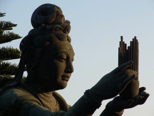 statue guanyin buddhism