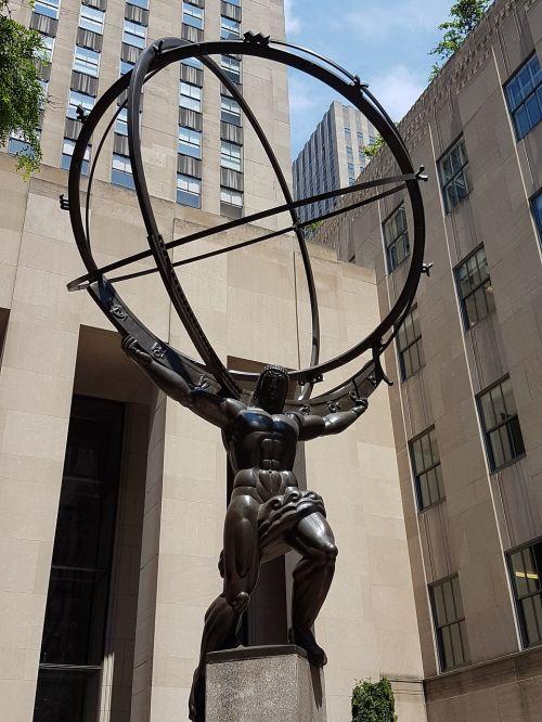 statue atlas new york