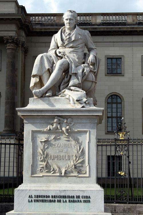 statue humboldt germany