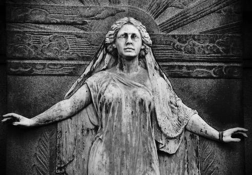 statue cemetery monument