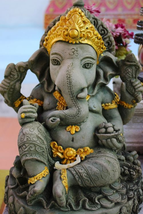 statue lord ganesha religious